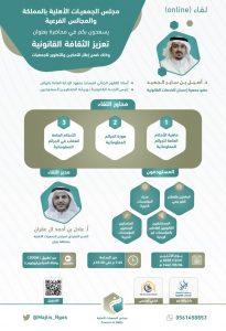 محاضرةبعنوان  تعزيز الثقافة القانونية يقدمها د.أصيل بن ساير الجعيد